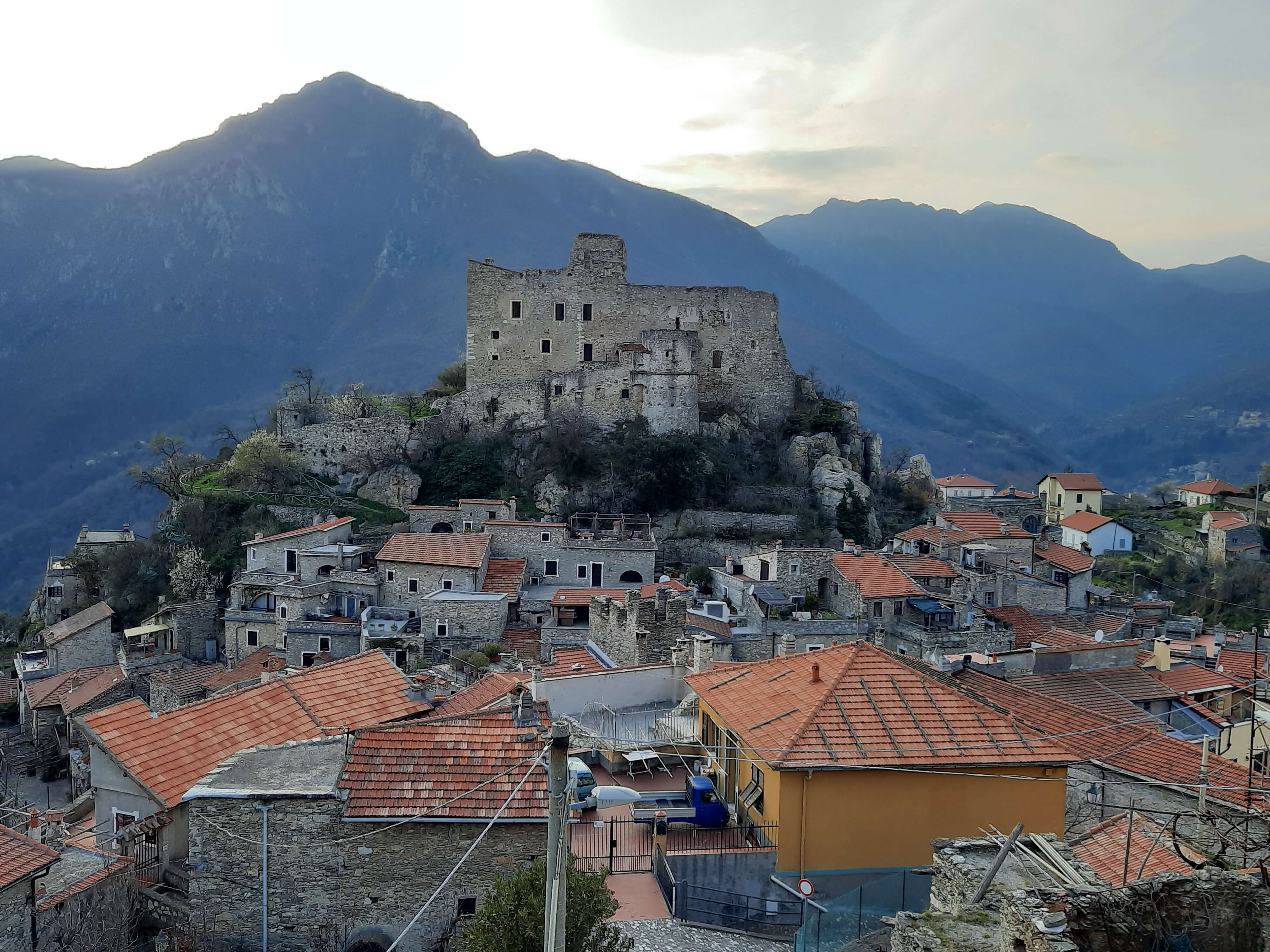 Castelvecchio di Rocca Barbena: one of the most beautiful villages in Italy